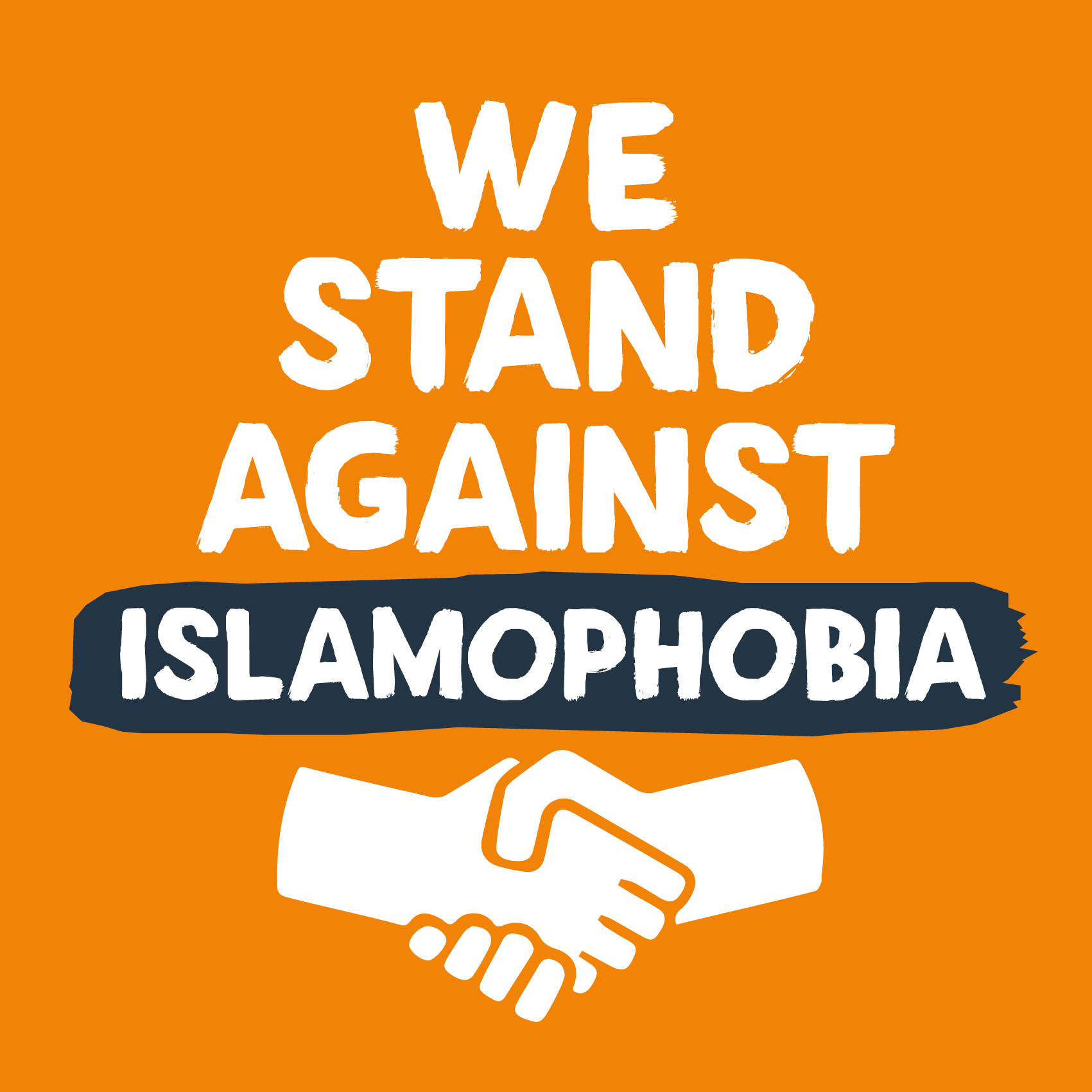 We Stand Against Islamophobia Stalls